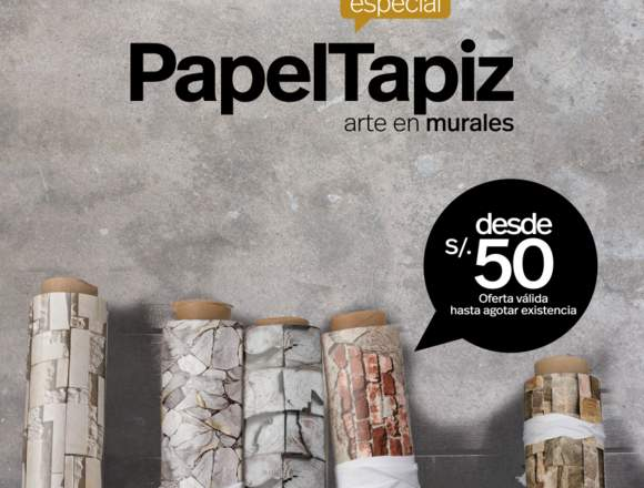 PAPEL TAPIZ, PAPEL DECORATIVO, PAPEL MURAL