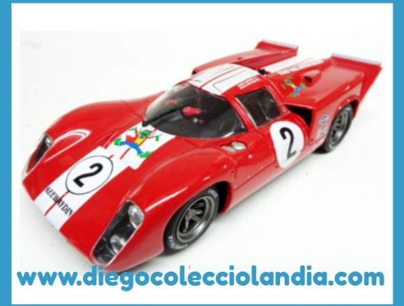 FLY CAR MODEL PARA SCALEXTRIC.REFERENCIAS LOLA T70