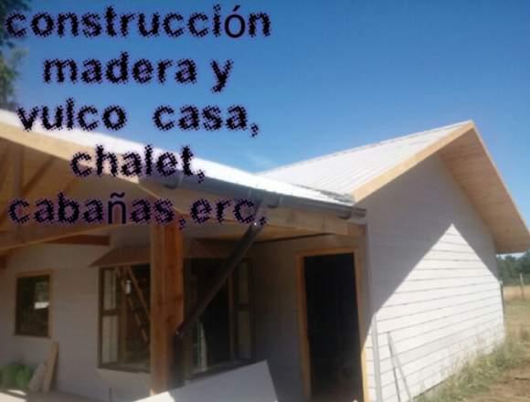 Construccion de casa/cabañas/etc.