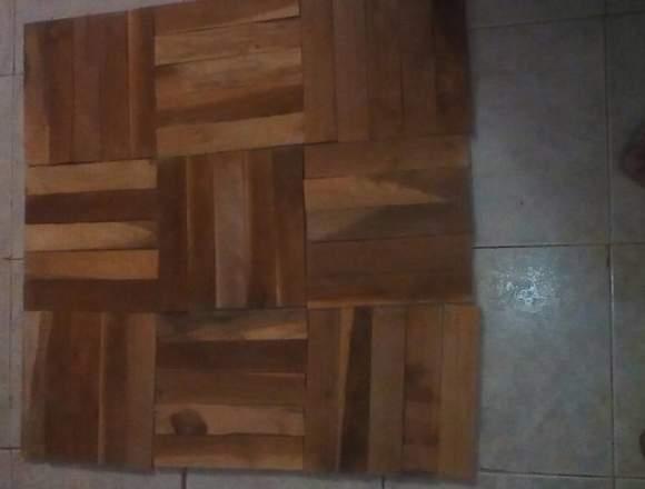 piso de maderaaaa teca de 5x25