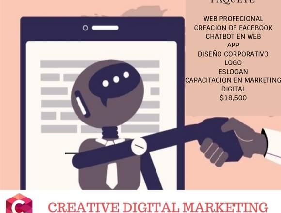 Paquete de marketing digital