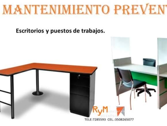 cambio de formica escritorio