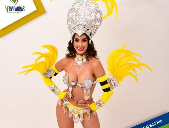 Garotas Guayaquil , Show Samba , Carnaval Ecuador