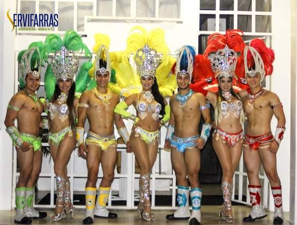 Garotas , Show Samba Hora Loca Guayaquil . Ecuador