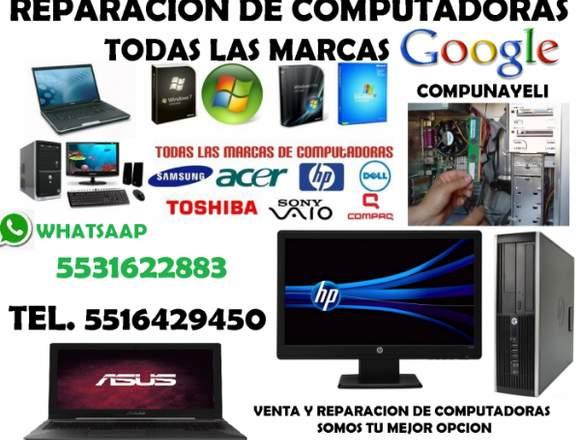 reparacion y venta de equipo de computo