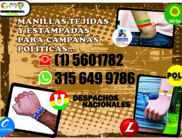 Manillas Para Campañas Politicas