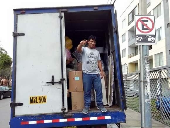 Servicios de transporte carga y mudanzas Lima