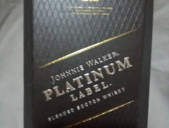 Platinum label Johnnie Walker 750 ml