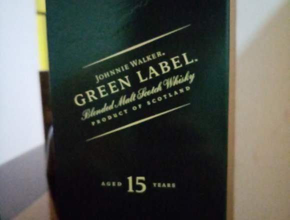 Green label Johnnie Walker 750 ml