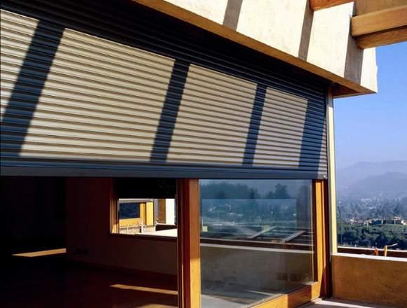 persianas de exterior, seguridad y cortinas roller