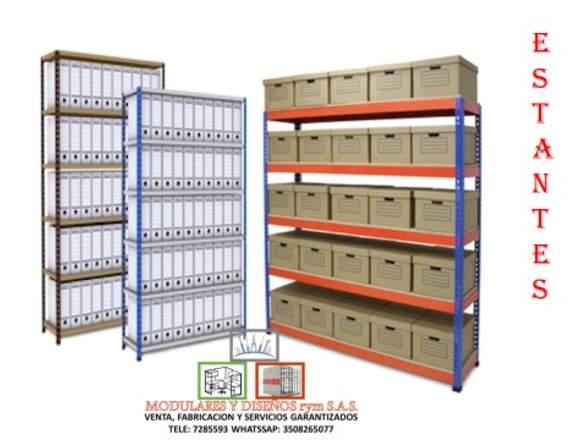 Mantenimiento  e instalación  de estantes