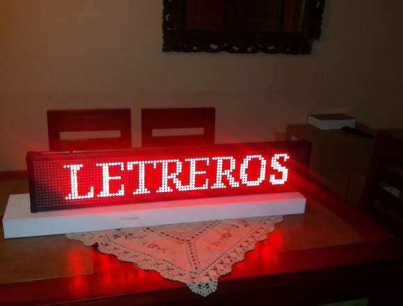 LETREROS LED CONTROLADOS CON EL CELULAR