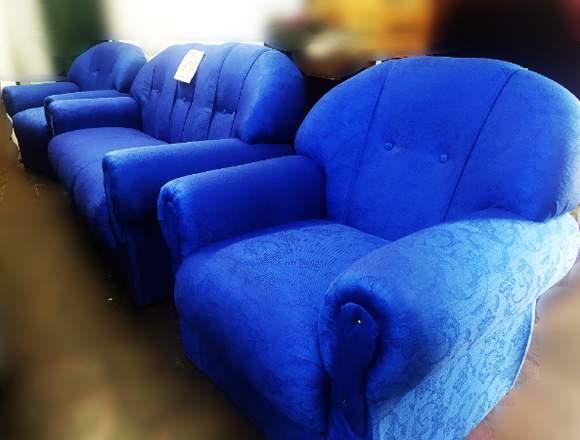 Juego de Living Azul NUEVO