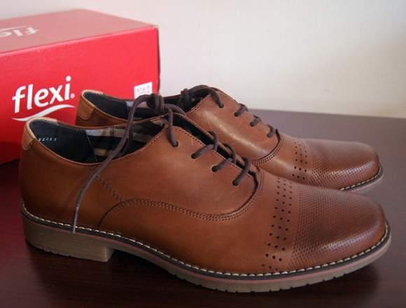 Zapatos de Vestir-Casual Flexi para Hombre, Nuevos