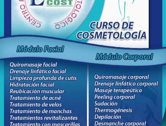 CURSO DE COSMETOLOGIA / MODULO FACIAL Y CORPORAL