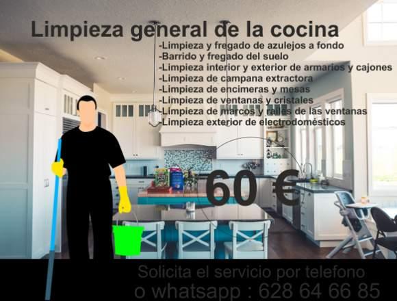 Limpieza a fondo cocina