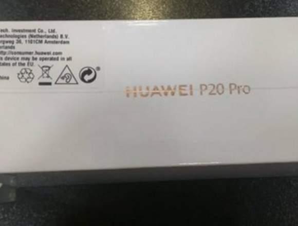 Huawei p20 pro a estrenar,precintado.