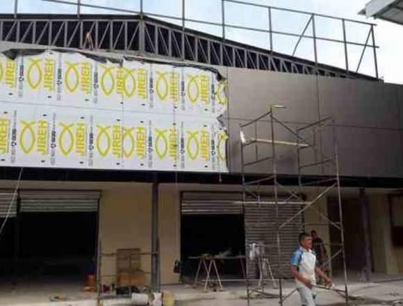 Instalaciones en Aluminio y Vidrio Cel. 0961663974