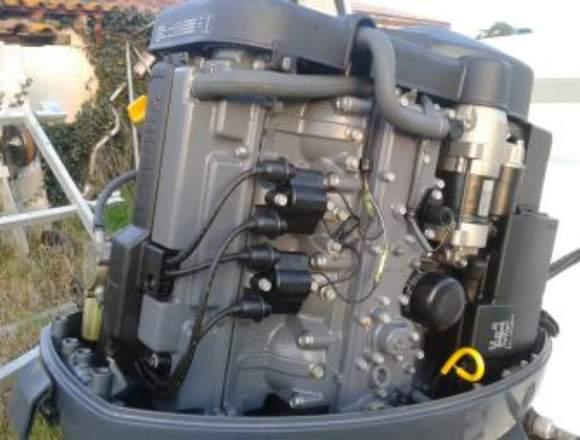 Motor del barco del movimiento de Yamaha 100cv 4