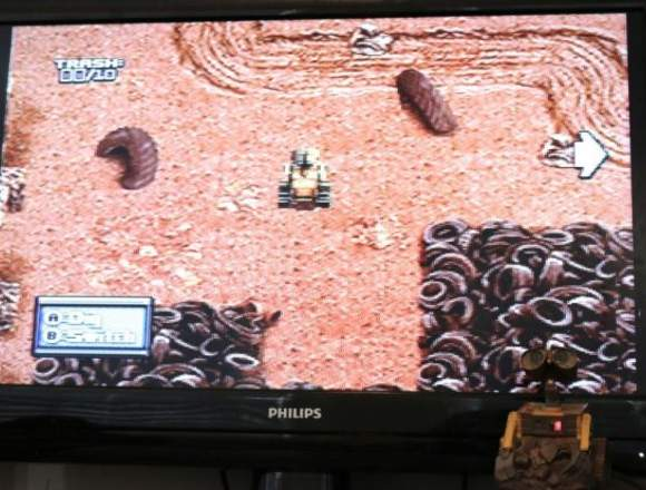 Consola y Juego Wall-e Plug and Play Tv Games
