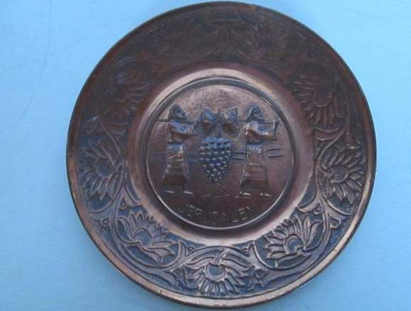 Platos Decorativos Traidos De Israel En Latón