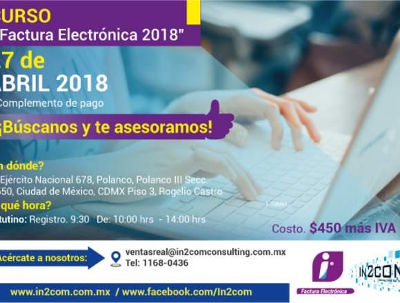 CURSO DE FACTURA ELECTRONICA  2018
