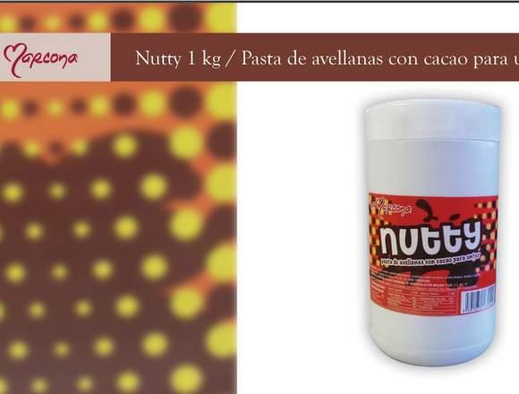 Nutty de Cacao y Avellanas Marcona 100% Original