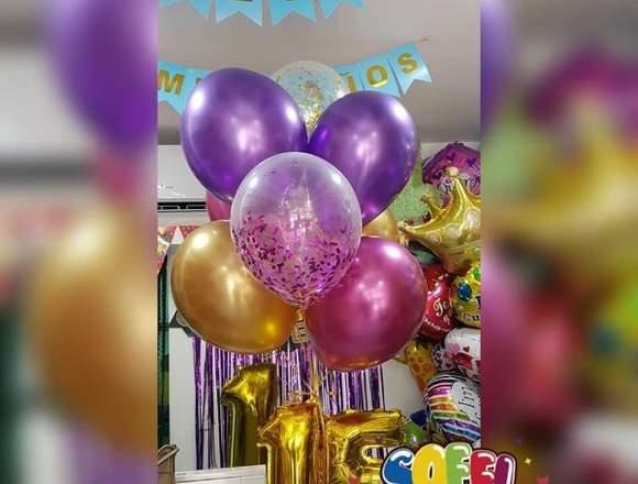 Bouquets Globos,helio