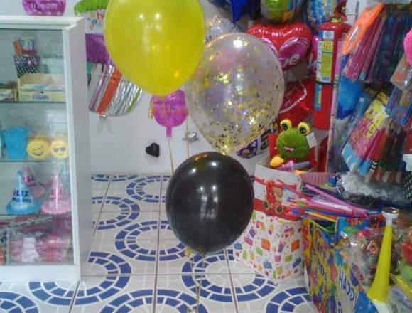 Bouquets de globos con helio