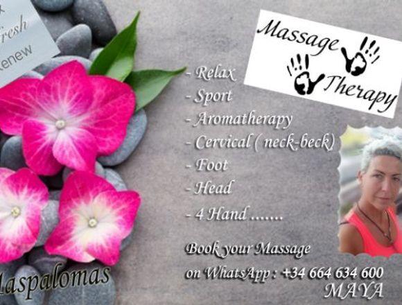 Profesional Masaje- Profesional massage