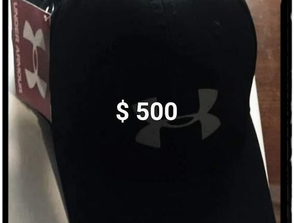 Gorras y ropa deportiva para caballero