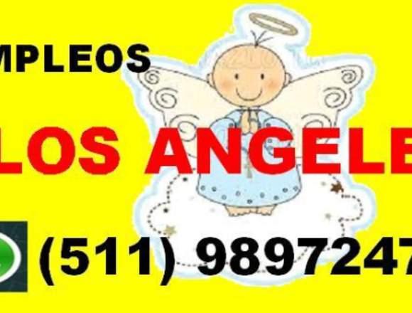 AGENCIA DE EMPLEOS LOS ANGELES, NIÑERAS