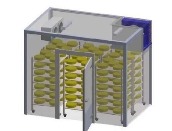 Cámara De Refrigeración Pre-fabricada 2x2x2