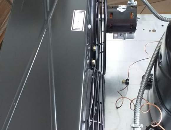 Unidad Condensadora Tecumseh 3HP para baja temp.