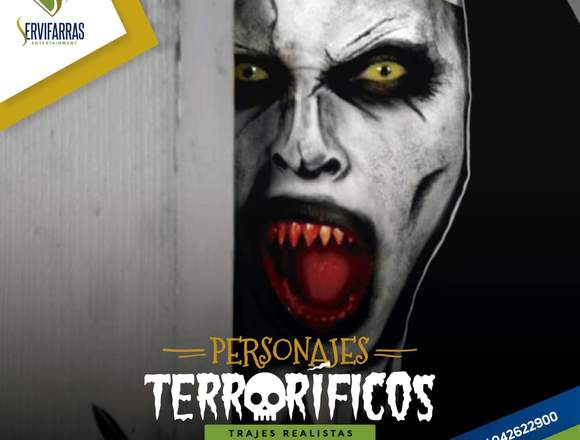 Hora Loca Halloween , Shows y Personajes de Terror