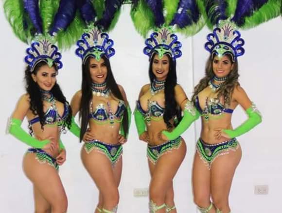 Garotas ,Garotos Show Samba Activaciones Guayaquil