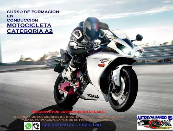Curso conducción para motocicleta todo cilindraje