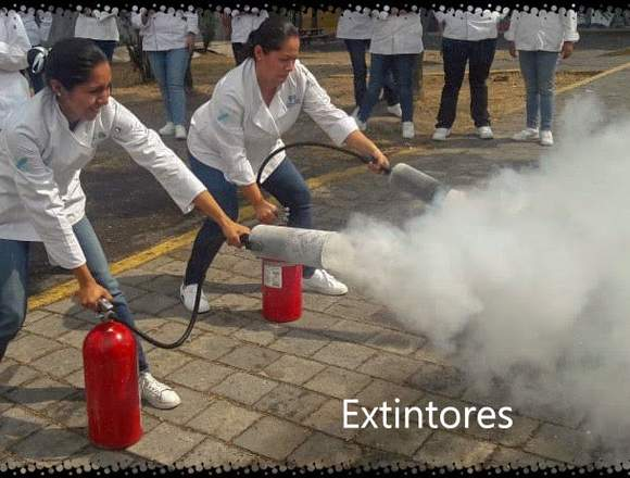 Recarga y mantenimiento de Extintores.