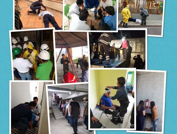 primeros auxilios, evacuación, incendio