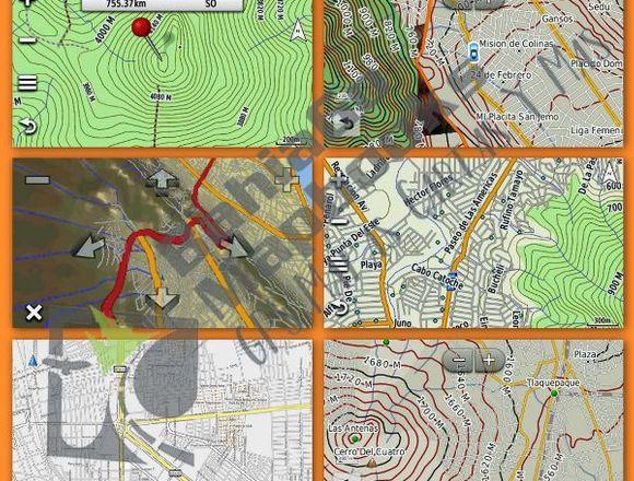 Mapa Gps Garmin Topográfico México 2019 Etrex Otro