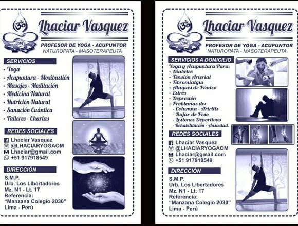 YOGA Y TERAPIAS ALTERNATIVAS