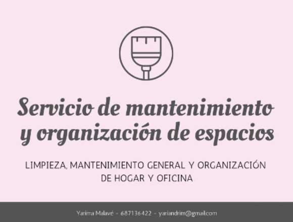 Limpieza y Reorganización hogar u oficina