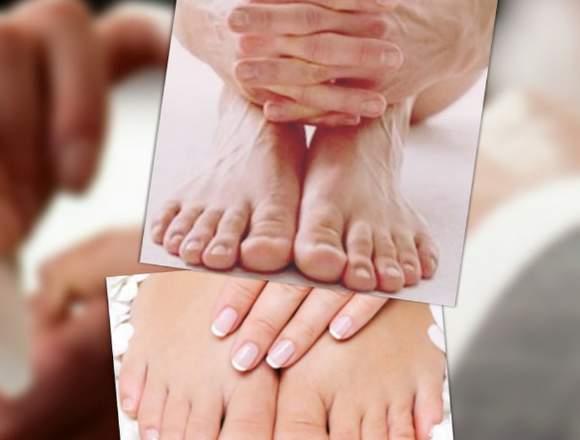 Manicure y Pedicure Hombres y Mujeres a domicilio