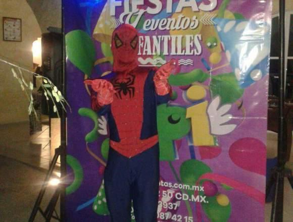 Show infantil del Hombre Araña