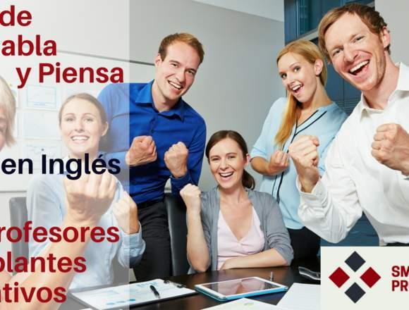 Inglés para negocios con profesores nativos.