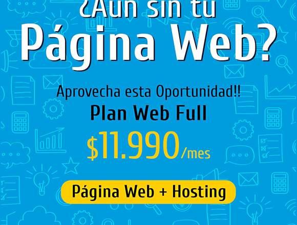 Pagina Web | Dominio | Hosting