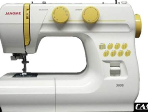 Máquina de coser janome 3008