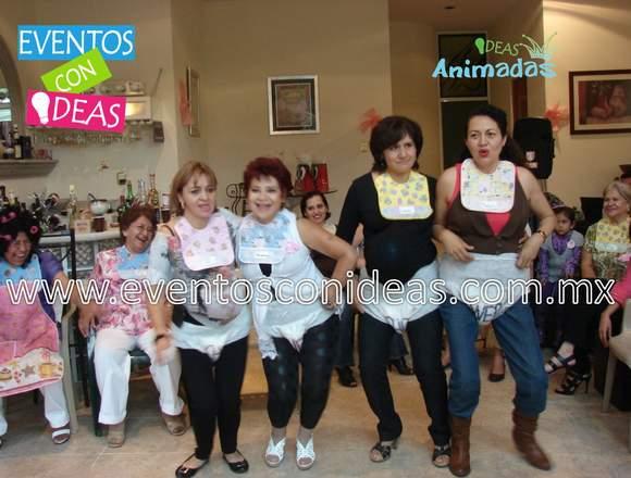 ANIMACION SERVICIO DE BABY SHOWER SHOW FIESTA