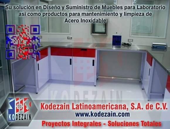 Muebles para laboratorio. Diseño y suministro
