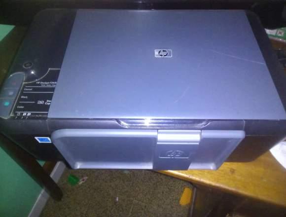 Impresora HP multifuncional en buen estado